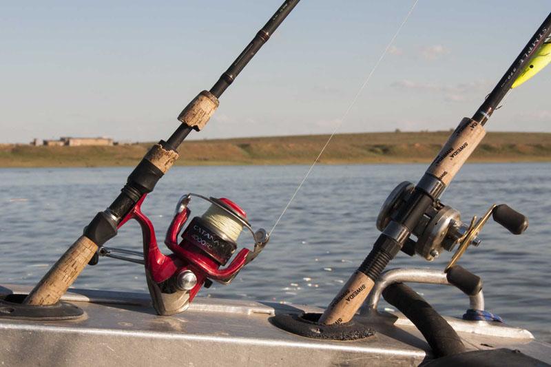 Рыбалка на Ахтубе летом