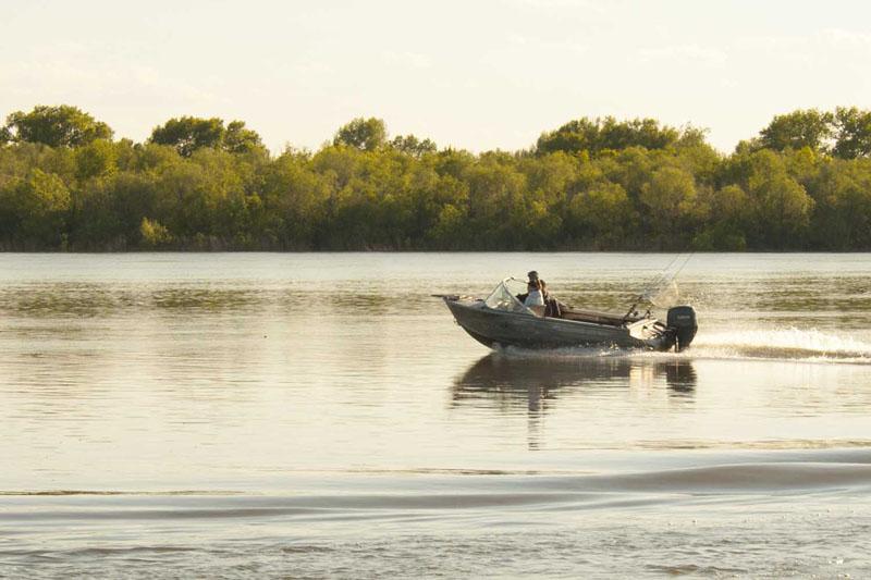Рыбалка на Ахтубе осенью