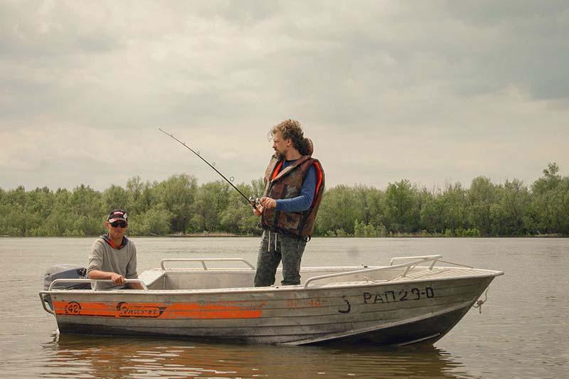 Рыбалка на Ахтубе весной